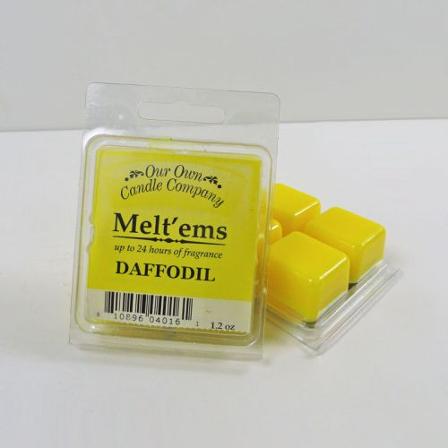 Daffodil Scented Tarts Wax Melts Four Pc. Pack