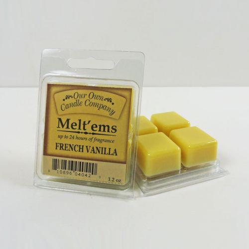 French Vanilla Scented Tarts Wax Melts Four Pc. Pack