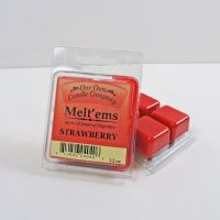 Strawberry Scented Tarts Wax Melts Four Pc. Pack