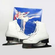 Lake Placid Flyer Vintage Women Shoe Ice Skates in Box
