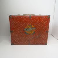 The Hub Vintage Metal Roller Skates Case Chicago Ill