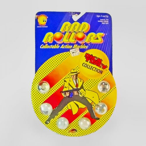 Rad Rollers Vintage 1990 Dick Tracy Collectible Marbles