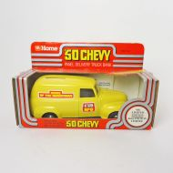 Ertl Home Hardware 1950 Chevy Truck Bank in Box with Key