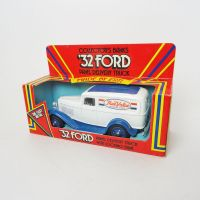 Ertl True Value 1932 Ford Panel Truck Bank in Box with Key